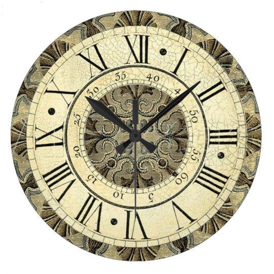 Roman Numeral Clock Zazzle Com