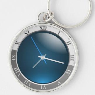 ROMAN NUMERAL CLOCK KEYCHAIN