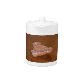Roman Oil Lamp Teapot