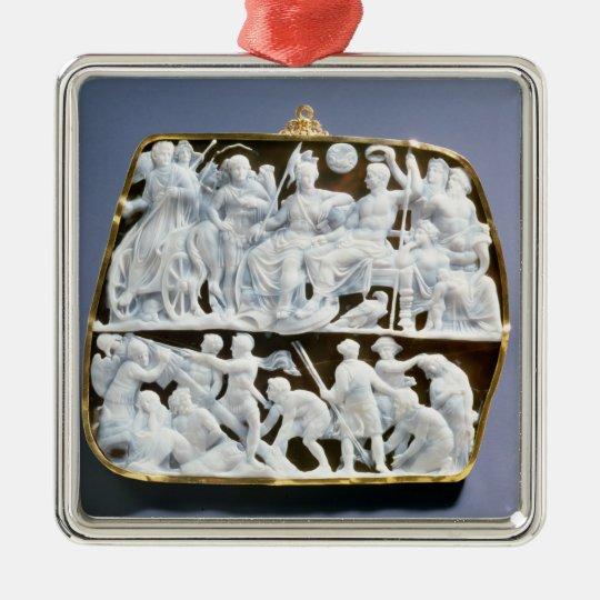Roman onyx cameo, 1st century AD Metal Ornament