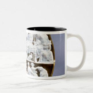 Roman onyx cameo, 1st century AD Two-Tone Coffee Mug