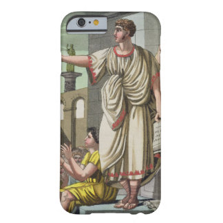 Roman Orator, from 'L'Antica Roma', 1825 (colour l Barely There iPhone 6 Case