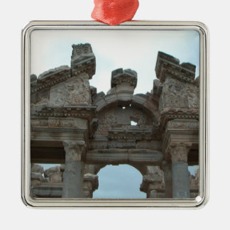 Roman Pediment Metal Ornament