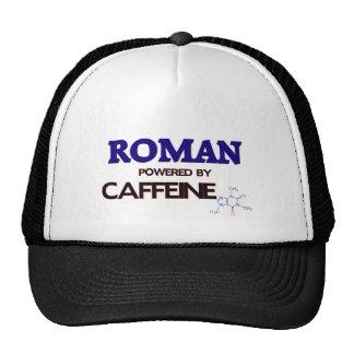 Roman powered by caffeine trucker hats