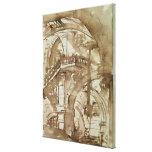 Roman Prison, c.1744-5 Gallery Wrap Canvas