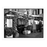 Roman Ristorante Postcard Postcards