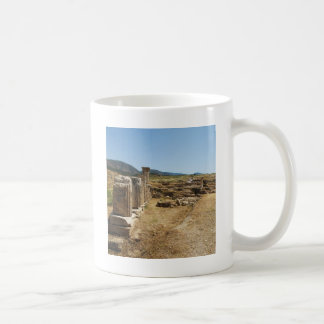 Roman Ruins at Hierapolis Pamukkale  Turkey Coffee Mug