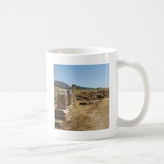 Roman Ruins at Hierapolis Pamukkale  Turkey Coffee Mug