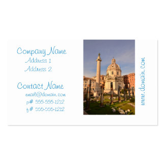 Roman Ruins Business Card