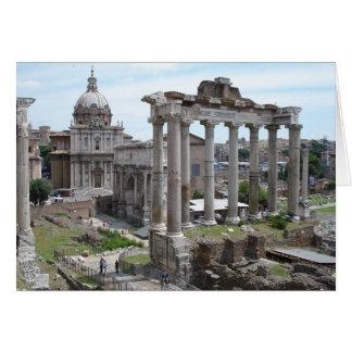 Roman Ruins Card