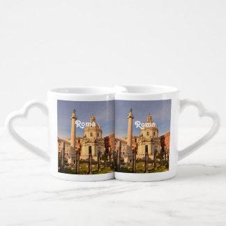 Roman Ruins Couples Coffee Mug