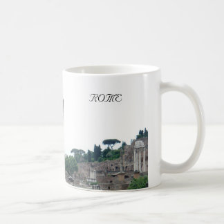 Roman Ruins Entrance in Rome Italy Coffee Mug