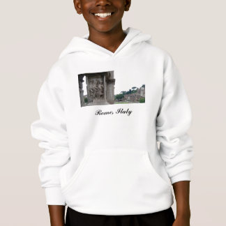 Roman Ruins Entrance in Rome Italy Hoodie
