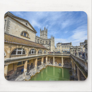 Roman Ruins in Bath England Mouse Pad