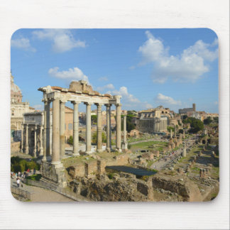 Roman Ruins in Rome Mouse Pad