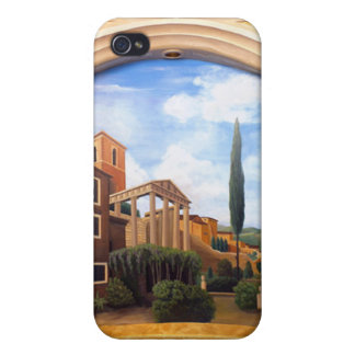 Roman ruins cases for iPhone 4