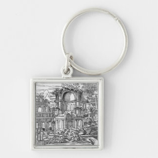 Roman Ruins Keychain