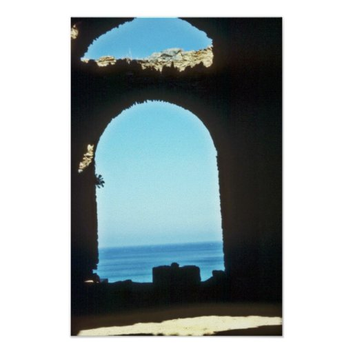 Roman Ruins On The Turquoise Coast Posters