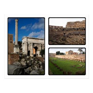 Roman Ruins Postcard