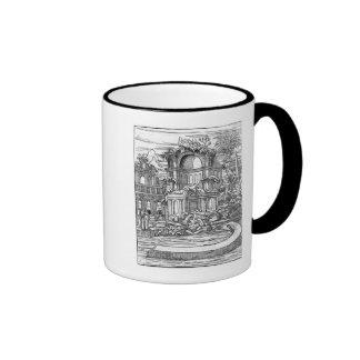 Roman Ruins Ringer Mug