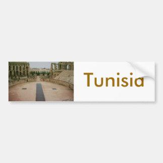 Roman ruins Tunisia Bumper Sticker