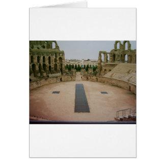Roman ruins Tunisia Card