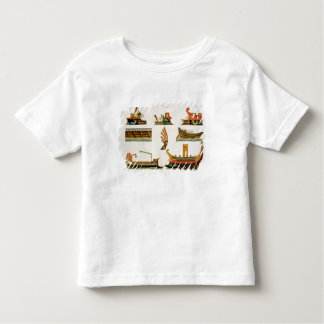Roman Ships with details of figureheads, plate 23, T Shirt