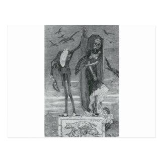 Roman Skeletons Post Card