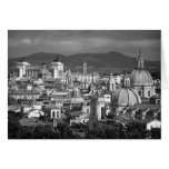 Roman Skyline Card Card