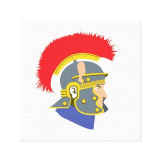 Roman Soldier Canvas Print