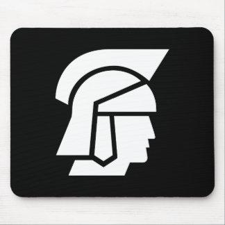Roman Soldier Pictogram Mousepad