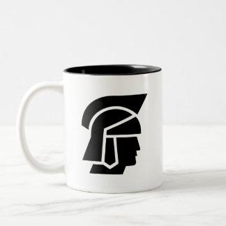 'Roman Soldier' Pictogram Mug
