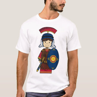 Roman Soldier with Shield Tee