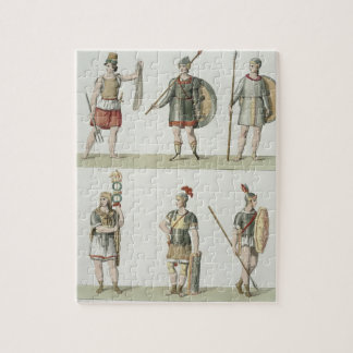 Roman Soldiers, detail from plate 2, Class 5 of Pa Jigsaw Puzzle
