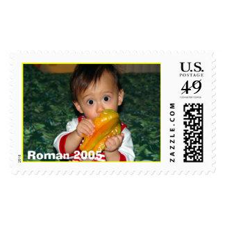 Roman starfruit 002, Roman 2005 Postage