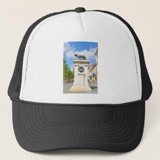 Roman statue trucker hat