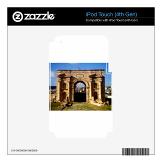 Roman Structure Front iPod Touch 4G Decals