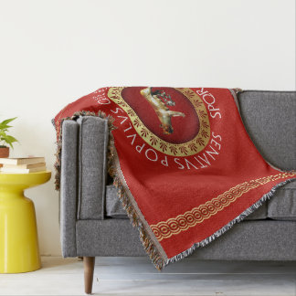 Roman Style Throw