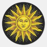 Roman Sun Sticker