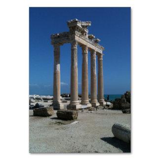 Roman Table Card
