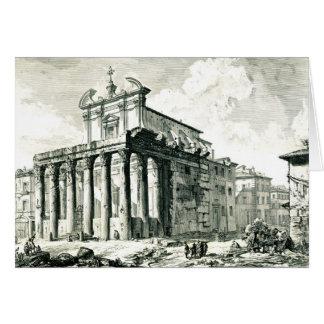 Roman Temple 1748 Greeting Card