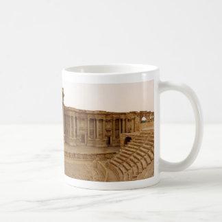 Roman Theatre in Palmyra Syria Panorama Coffee Mug
