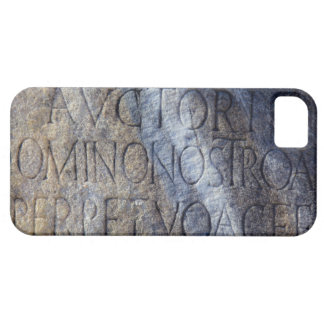 Roman typography at the Forum, Rome, Italy iPhone 5 Covers