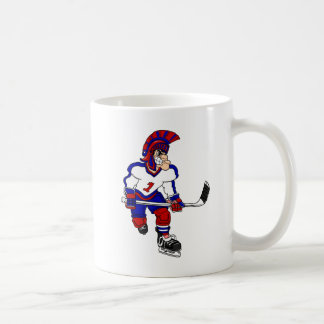 Roman Warior Hockey Player Coffee Mug