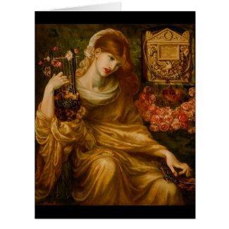 Roman Widow 1874 Card