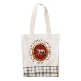 Roman Zazzle HEART Tote Bag