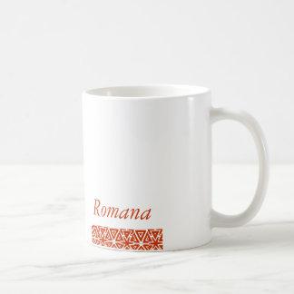 Romana, NAME Classic White Coffee Mug