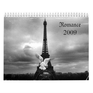 Romance 2009 calendars