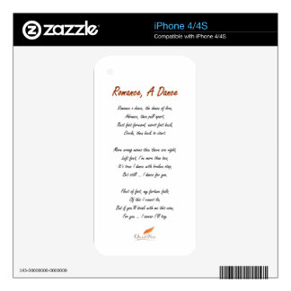 Romance, A Dance Poem iPhone 4 Decal