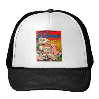 Romance Art - Vintage Romantic Comic Art Trucker Hats